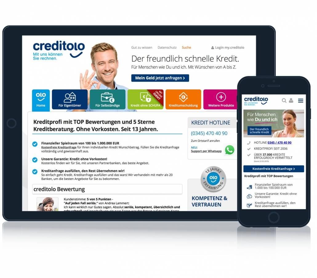 Creditolo Kreditvermittler