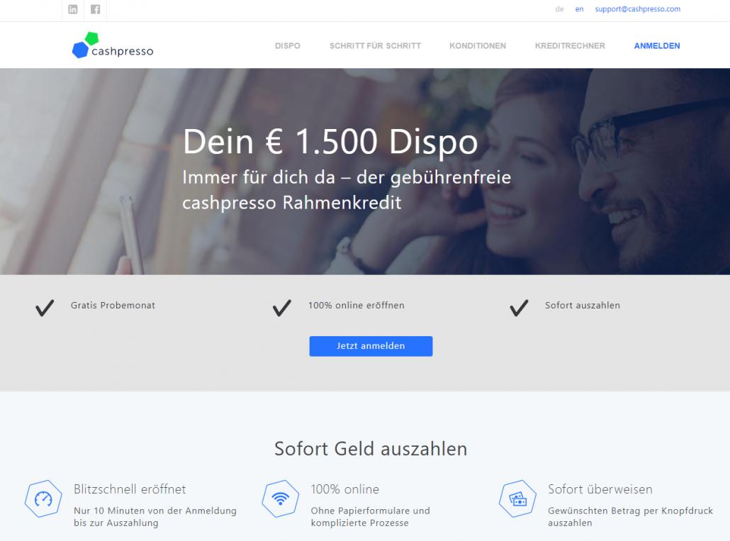 cashpresso Website