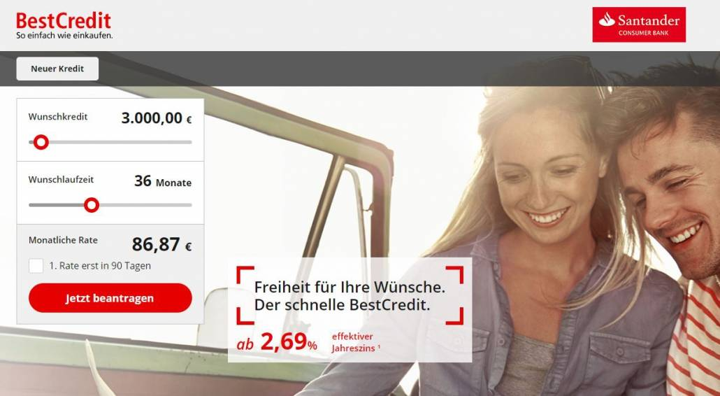 Santander BestCredit