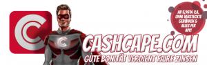 CashCape mit guten Zinsen